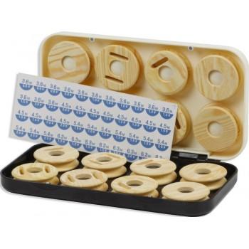 Caja con 16 plegadores KALI KUNNAN Mod. 096C
