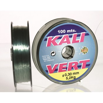 Monofilamento Kali VERT - 100 MTS