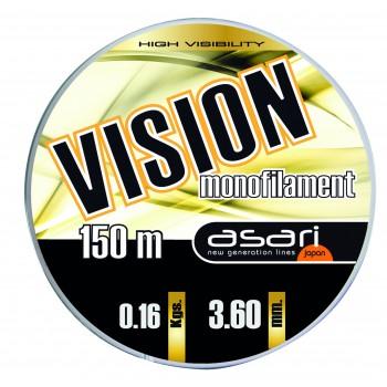 Monofilamento Asari VISION  - 150 MTS