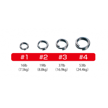Anillas OWNER Split Ring Regular Wire (BC)