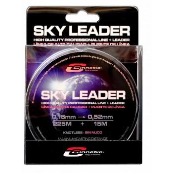 Monofilamento cónico Cinnetic Sky Leader Clear. 250M+15M