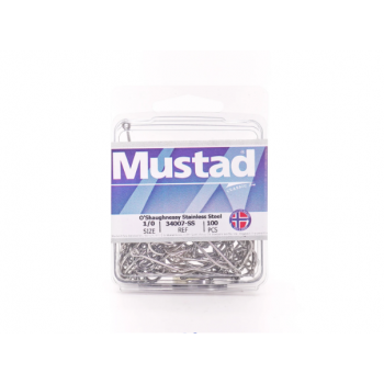 Anzuelos MUSTAD Stainless O'Shaughnessy