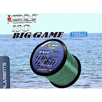 Monofilamento AWA-SHIMA ION Power ISO BIG GAME (light blue) - 1000 MTS