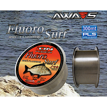 Monofilamento AWA-SHIMA ION Power Fluoro Surf - 300 MTS