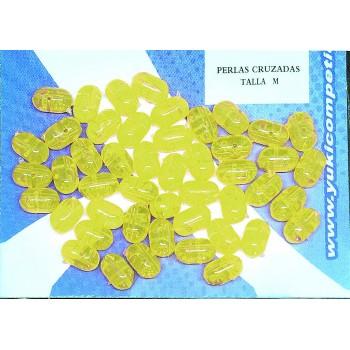 S/48 Perlas yuki cruzadas