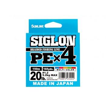 Sunline SIGLON PE X4 Multicolor 200 MTS