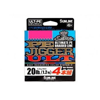 Sunline PE JIGGER ULT 4 Multicolor 200 MTS