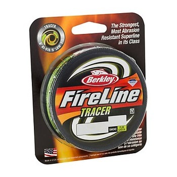 Trenzado Berkley Fireline Tracer Braid Multicolor 270 mts