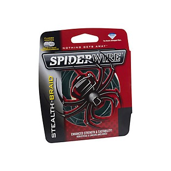 Trenzado Spiderwire Stealth Smooth 8 Moss Red 300 mts