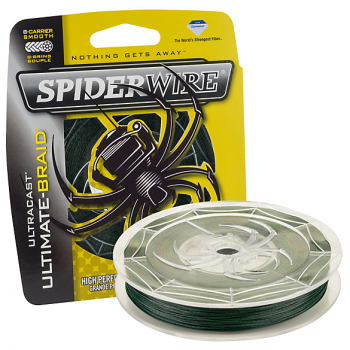 Trenzado Spiderwire Ultracast Ultimate-Braid Low-vis Green 270 mts VERDE