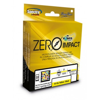 Trenzado Power Pro Zero Impact Aqua Green/Black 275 mts