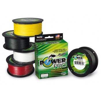 Trenzado Power Pro Moss Green 275 mts VERDE