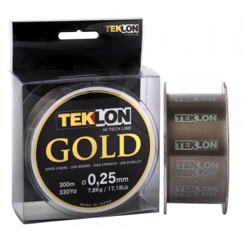 Monofilamento Teklon Gold 300 MTS